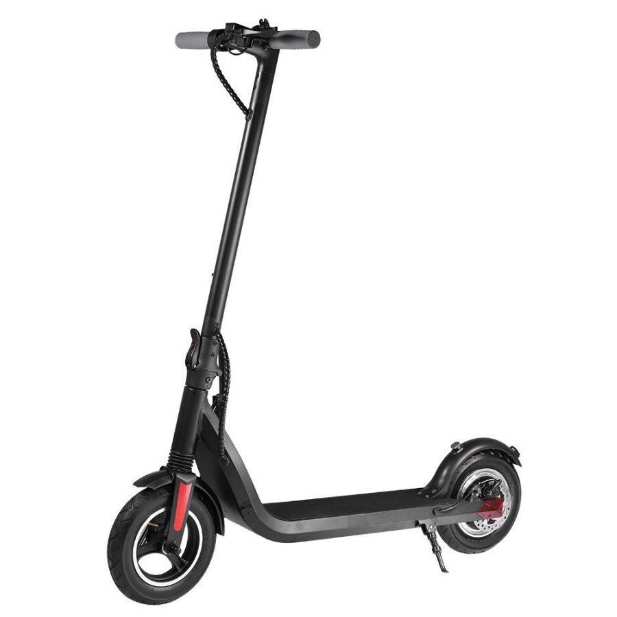 iEZway Electric Scooter EZ5 Pro Dual Brake App LCD Display Waterproof Foldable Electric Scooter