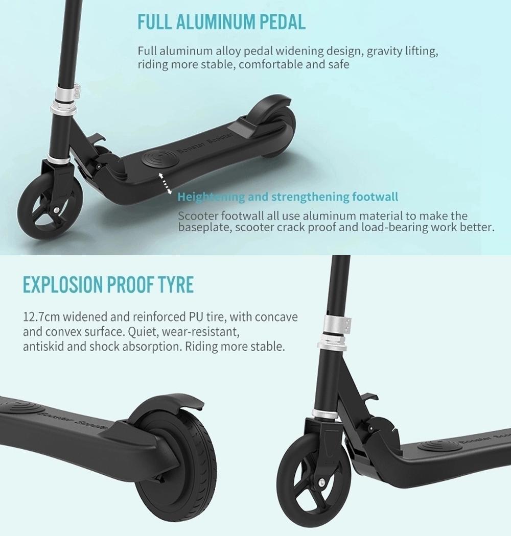 iEZway EZ-R5儿童电动滑板车100W防水可折叠电动滑板车